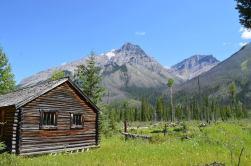 Deer Lodge Warden Cabin