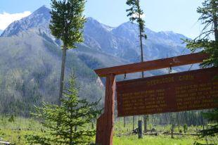 Deer Lodge Info Sign