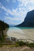 From the back of Lake Louise
